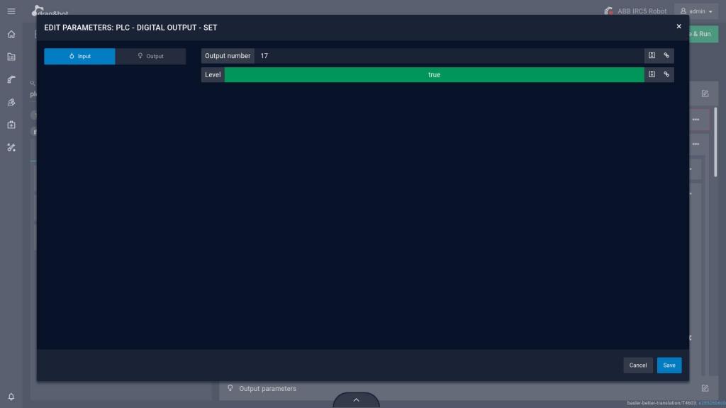 plc set digital output in program